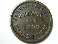 1860'S  W. &  A. J.  PACKARD  HARDWARE AND IRON