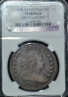1798 BUST DOLLAR VF DETAILS NGC   MUST LOOK