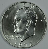 1972 S EISENHOWER 40 SILVER UNCIRCULATED DOLLAR  SEE STORE FOR DISCOUNTS RD02