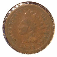 1883 1C INDIAN CENT AUTO. COMBINED SHIPPING]24096