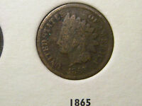 1865 INDIAN HEAD CENT                                                     24TH