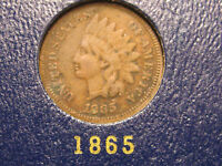 1865 INDIAN HEAD CENT                                                     31ST
