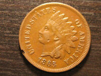 1865 INDIAN HEAD CENT                                                     21-P