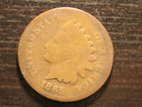 1865 INDIAN HEAD CENT                                                     61ST