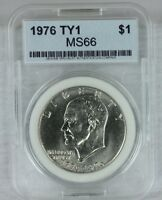 1976 P TY1 EISENHOWER DOLLAR IKE $1 MS/BUBRILLIANT UNCIRCULATED US COIN G81