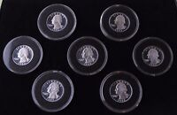 1992 TO 1998 SILVER PROOF WASHINGTON QUARTER SET   PLEASE READ DESCRIPTION