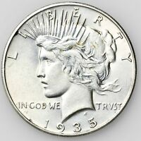 1935 PEACE DOLLAR LARGE SILVER COIN [2372.03]