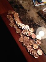1963 D 1C RD LINCOLN CENT 1 ROLL BRILLIANT UNCIRCULATED GEMS 50 PENNIES WOW
