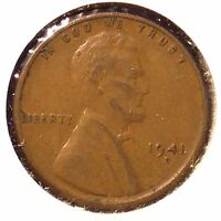 1941 D 1C LINCOLN CENT AUTO. COMBINED SHIPPING]19536