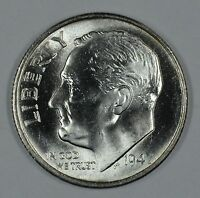 1947 S ROOSEVELT SILVER UNCIRCULATED DIME BU SEE STORE FOR DISCOUNTS BL41