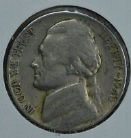 1946 D JEFFERSON CIRCULATED NICKEL  SEE STORE FOR DISCOUNTS