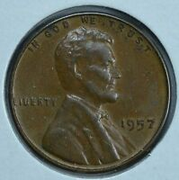 1957 LINCOLN WHEAT CIRCULATED PENNY SEE STORE FOR DISCOUNTS  RD35