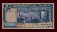 PORTUGAL PORTUGUESE ANGOLA 1000 ESCUDOS 1970 P 98 XF   WEST AFRICA EAST