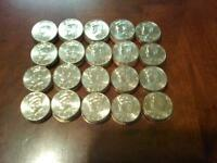LOT20 ONE ROLL 1993 D JFK KENNEDY HALF DOLLARS TOUGH TO FIND