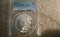 1879 S  MORGAN DOLLAR REALLY  MINT STATE 66   PCGS EYE APPEAL