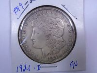 1921 D   UNITED STATES MORGAN SILVER DOLLAR  P19 2