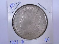 1921 D   UNITED STATES MORGAN SILVER DOLLAR  P19 6