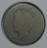 1893 LIBERTY HEAD CIRCULATED NICKEL SEE STORE FOR DISCOUNTS  YE33
