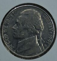 1991 D JEFFERSON CIRCULATED NICKEL  SEE STORE FOR DISCOUNTS