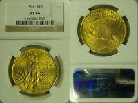 1926  NGC MS66 GOLD SAINT GAUDEN