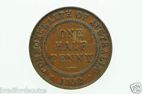 AUSTRALIAN 1932 HALF PENNY GEORGE V IN FINE CONDITION