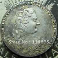 1 ROUBLE 1730 RUSSIA ANNA I COIN