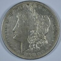 1921 D  MORGAN SILVER DOLLAR    CIRCULATED SEE STORE FOR DISCOUNTS OR58