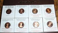2008 2009 2010 2011 2012 2013 2014 S LINCOLN PROOF CENT PENNY 7 COIN SET LOT