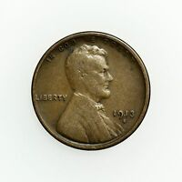 1913-S LINCOLN WHEAT CENT SMALL COPPER COIN [2846.05]