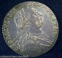 UK GREAT BRITAIN 1787 SHILLING.