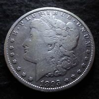 1893-O MORGAN SILVER DOLLAR - SOLID VG DETAILS  FROM THE NEW ORLEANS MINT
