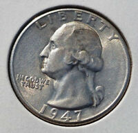 1947 D 25C WASHINGTON QUARTER