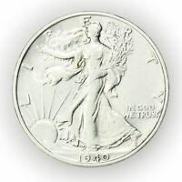 1940-S WALKING LIBERTY HALF DOLLAR,  SILVER COIN [2922.38]