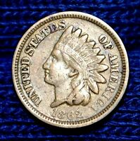 1862 INDIAN HEAD CENTFULL LIBERTY