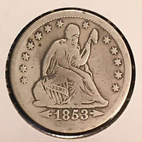 1853 O 25C ARROWS AND RAYS LIBERTY SEATED QUARTER [AUTO. COMB. SHIPPING]25950