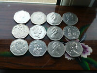 LARGE/OLD 50P COINS 1969 1970 1994 EX & PROOF GRADES CHOOSE WHICH YEAR HUNT