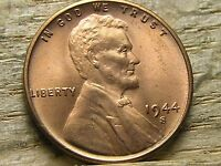 1944 S  LINCOLN WHEAT PENNY UNCIRCULATED