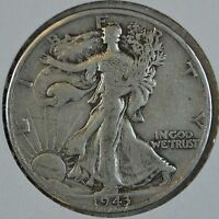 1943 D WALKING LIBERTY CIRC SILVER HALF DOLLAR SEE STORE FOR DISCOUNTS GY32