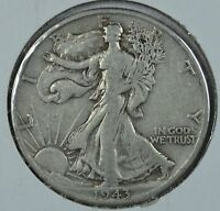 1943 D WALKING LIBERTY SILVER HALF DOLLAR SEE STORE FOR DISCOUNTS RD02