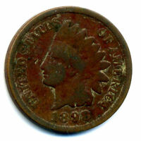 1898 P INDIAN HEAD US PENNY 1 CENT KEY DATE US CIRCULATED KEY DATE COIN 986