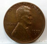 1955 D LINCOLN WHEAT CENT A 522