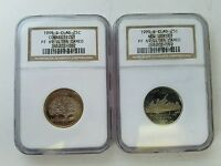 2 1999 S CLAD STATE QUARTERS PF69 UC CONNECTICUT & NEW JERSEY