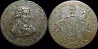 HHC CONDER HALF PENNY TOKEN 1790'S LONDON AND MIDDLESEX INV C23