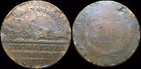HHC CONDER HALF PENNY TOKEN 1790'S MAIL COACHES INV C3