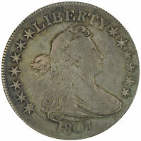 1807 DRAPED BUST HALF DOLLAR