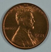1953 P LINCOLN WHEAT PENNY  BU DETAILS SEE STORE FOR DISCOUNTS OR43