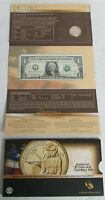 2014 D NATIVE AMERICAN $1 SACAGAWEA ENHANCED COIN & CURRENCY SET TA9