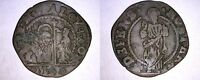 1676 1684 VENETIAN 12 BAGATTINI WORLD COIN UNDER DOGE ALVISE CONTARINI   VENICE