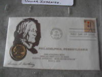 1979 SUSAN B ANTHONY DOLLAR COIN AND FIRST DAY COVER LOOK