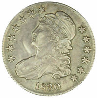 1830 50C CAPPED BUST HALF DOLLAR